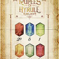 Legend of Zelda - Tingle's The Rupees of Hyrule Kingdom Art Print by Barrett Biggers
