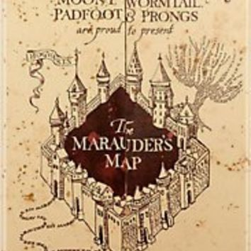 """""""Marauders Map Iphone Case"""" iPhone & iPod Cases by Rachel Miller 