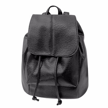 Casual Style Women Backpack Fashion Leather Schoolbag Backpack for School Girls School Kids Travel Rucksack Mochilas Backpack