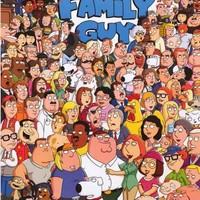 Family Guy Cartoon Cast Poster 24x36