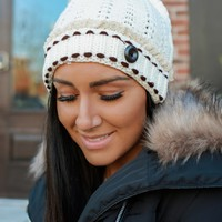 Chantilly Cream Beanie