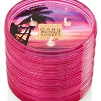 3-Wick Candle Oahu Coconut Sunset