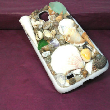 Galaxy s4 Seashell Cell Phone Case/Beach Cell Phone Case