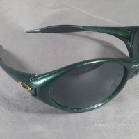 Oakley sunglasses in radioactive green made in USA