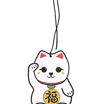 Lucky Cat Air Freshener