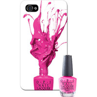 OPI Online Only IPhone 5 Case with Matching Mini Nail Lacquer I'm Not Really A Waitress Ulta.com - Cosmetics, Fragrance, Salon and Beauty Gifts
