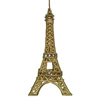 Le France Eiffel Tower French Holiday Christmas Ornament