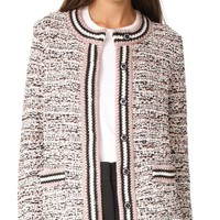 Tweed Cardigan Jacket