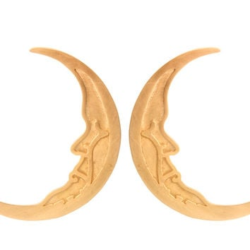 HALF MOON HOOPS by natalia+benson