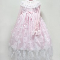 Angelic Pretty Replica~ Heavenly Cross~ Lolita JSK and OP $58.99-Lolita Dresses - My Lolita Dress