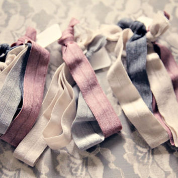Set of TEN No Dent Hair Ties won't leave a kink Ultra by Murabelle
