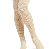 Mesh Pointelle Knee-High Socks | Wet Seal