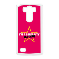 Celebrity Hater White Hard Plastic Case for LG G3 by Chargrilled