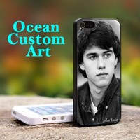John Luke Robertson - Print on Hard Cover iPhone 4/4S Black Case