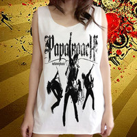 Papa Roach rock band Music Unisex Art Vest shirt Tank Top Free Size