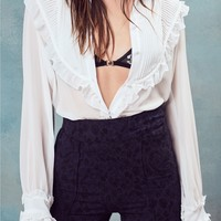 Vivi Pintuck Blouse – For Love & Lemons