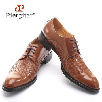 Men's Genuine Leather fashion casual flats shoes Party Wedding shoe for men business Oxfords shoes