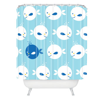 Khristian A Howell Baby Beach Bum 2 Shower Curtain
