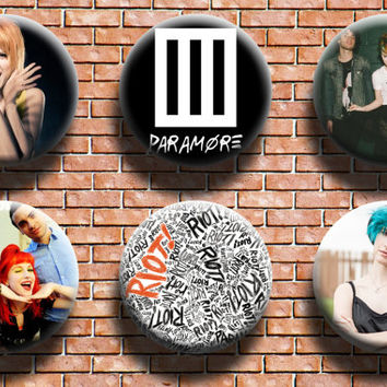 Paramore 1.25 Inch Button Six Pack