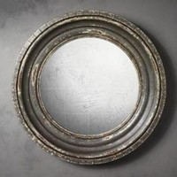 Madison Distressed Convex Mirror | Wall Mirrors | Restoration Hardware