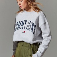 Tommy Jeans Collegiate Crew-Neck Sweatshirt