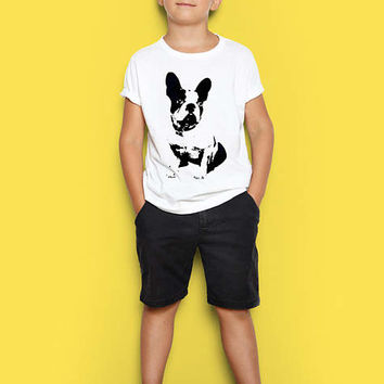 Boston Terrier Shirt for Kids - Custom Shirt - Kids Tshirt - Toddler Clothes for Boy or Girl - Boston Terrier Clothing - Boston Terrier Gift