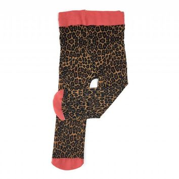 Child's Leopard Printed Tights