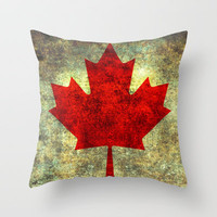 Oh Canada! Throw Pillow by Bruce Stanfield
