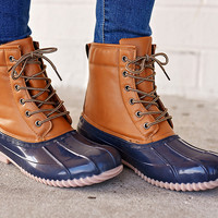 Jango Duck Boot Navy