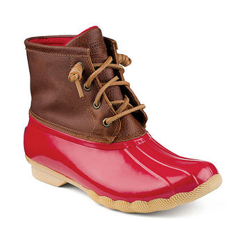 Sperry Top-Sider Saltwater Waterproof Cold Weather Duck Booties | Dillards