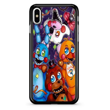 Five Nights At Freddy S Poster iPhone X Case