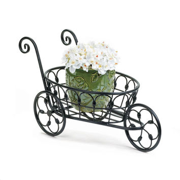 Flower Plant Holder-Iron Garden Cart | 7 Available