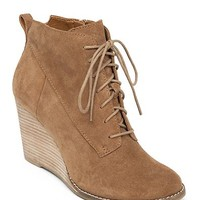 Yoanna Lace Up Wedge Boot | Lucky Brand
