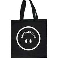 Bad Days Club Smiley Tote Bag