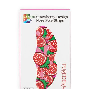 Strawberry Graphic Nose Pore Strips