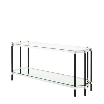 Glass Top Console Table   Eichholtz Florence