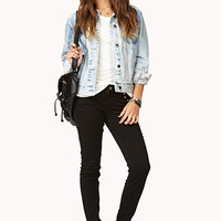 Spiked Soft Skinny Jeans
