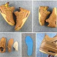 Nike Air Jordan Retro 4 Premium Ginger Best Quality  Premium Ginger Best Quality Basketball Shoes