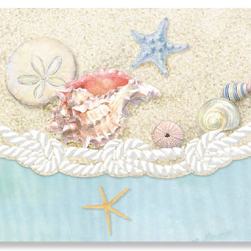 Carol Wilson Sea Shells Note Card Portfolio