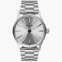 Nixon Sentry 38 Ss Watch Silver One Size For Men 25975014001