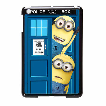 Despicable Me Minions In Tardis Call Dr Who iPad Mini Case