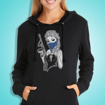 Cold Gangster Princess For Elza Frozen Women'S Hoodie