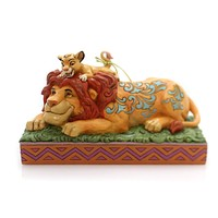 Jim Shore A FATHER'S PRIDE Polyresin Lion King Simba Mufasa 6000972
