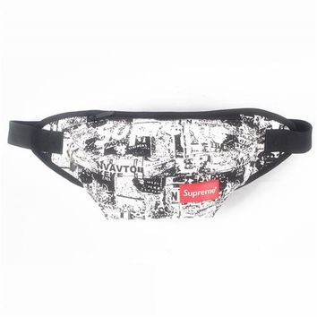 Men's and Women's Supreme Chest Pockets Oxford Casual Riding Bag 016