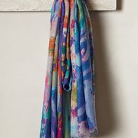 Wild Coast Infinity Scarf by Anthropologie Blue One Size Scarves