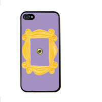 Friends TV Show Sitcom Monica's Peephole Door Frame Hard Print Pattern Cover Case for iphone 4/4s/5/5s/5c/6/6s/6plus/6s plus tvi