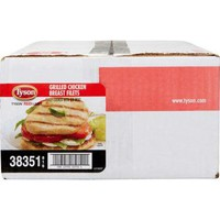 Tyson Red Label Grilled Chicken Breast, Cooked 10 lbs ship in 2 days