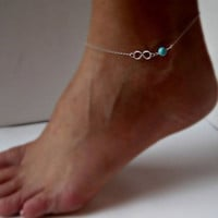 Fashion Infinity Anklet [7764926343]