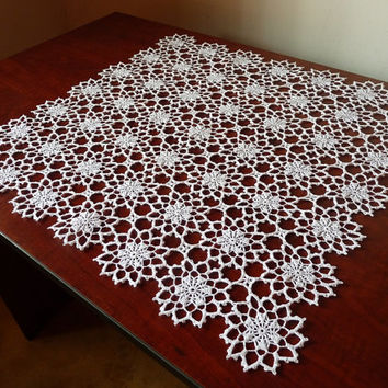 Best White Lace Tablecloth Products On Wanelo