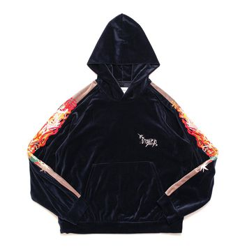 CHAOS EMBROIDERY TRACK HOODIE